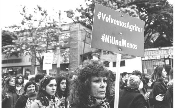 imagen de una manifestación de #NIunamenos