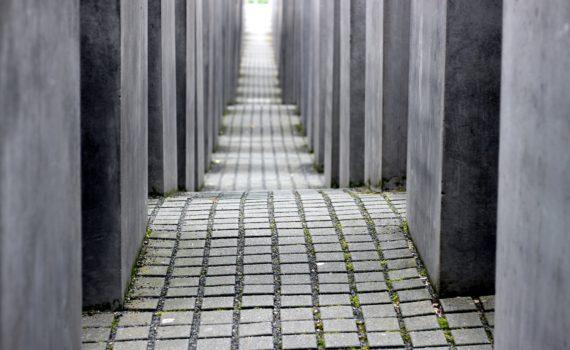 Imagen del Monumento a las Víctimas del Holocausto de Berlín