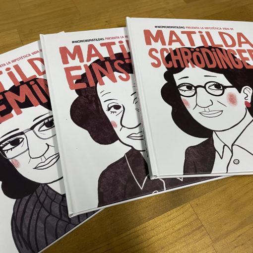 imagen de varios cuentos de la campaña #NomoreMatildas