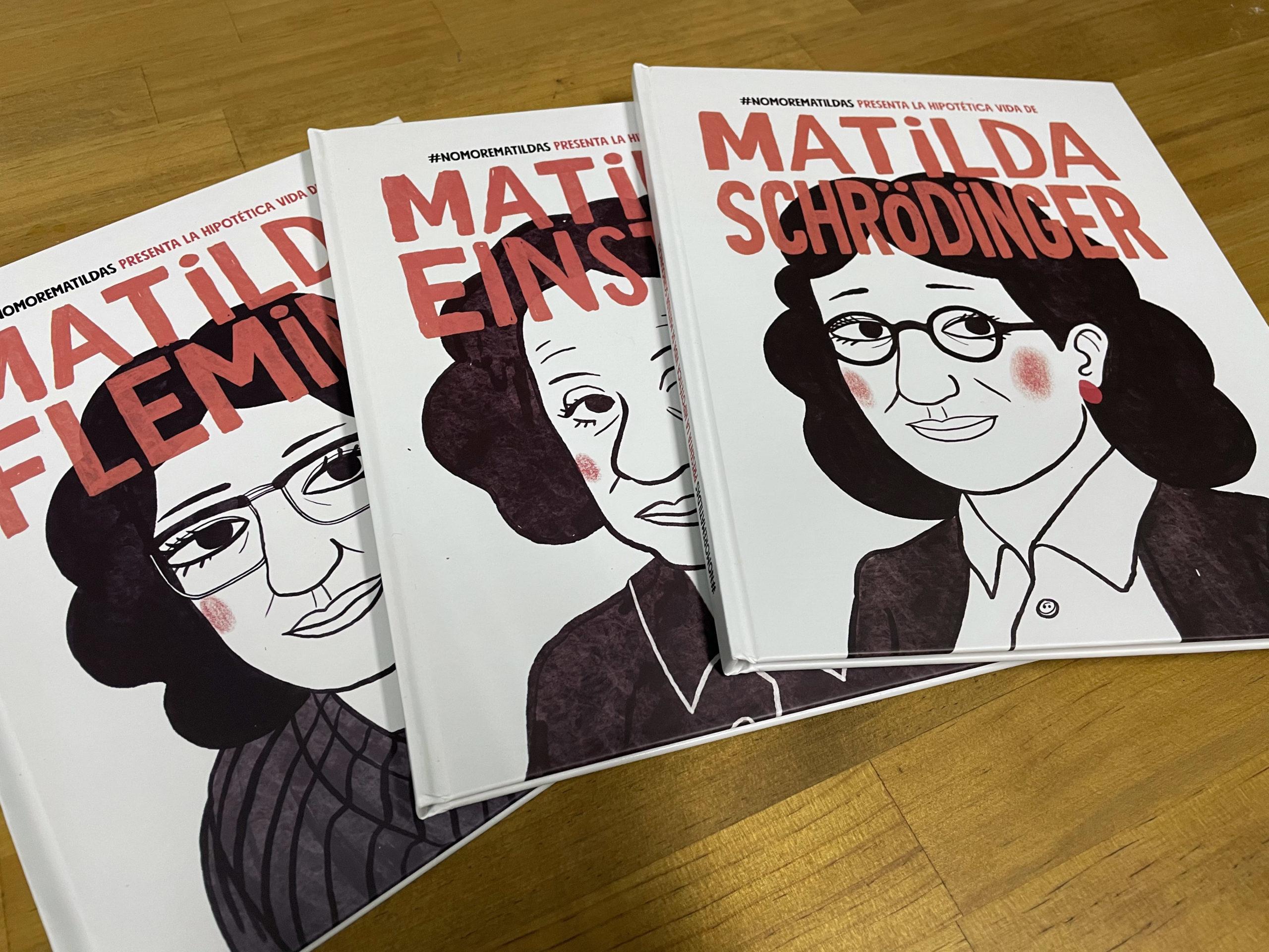 Imagen de los cuentos de la campaña #NomoreMatildas