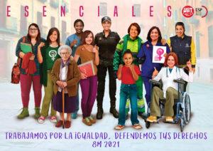 cartel campaña Esenciales