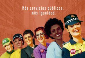Cartel campaña servicios públicos