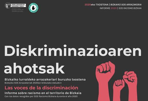 portada informe Voces de la Discriminación