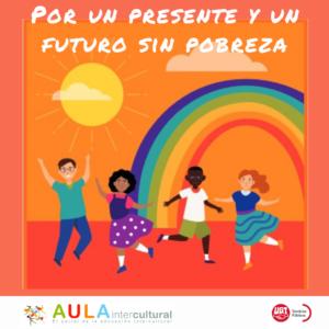 Cartel campaña por un futuro sin pobreza